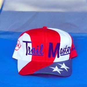 Trail Master Inc. vintage American flag cap hat